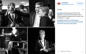 Young Scot Instagram