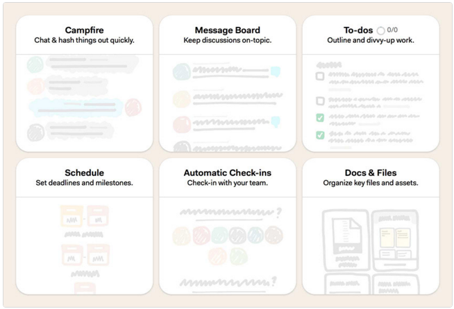 Basecamp Planning Tools